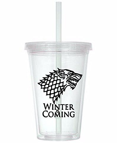 Winter is Coming Game of Thrones Tumbler Cup