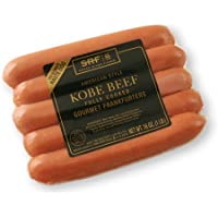 Snake River Farms, American Style Kobe Beef Hot Dogs, 1 lb