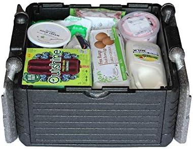 FLIP BOX CLASSIC Grey 24 QT// 30 can Insulation Box Foldable ECO Friendly Cooler!