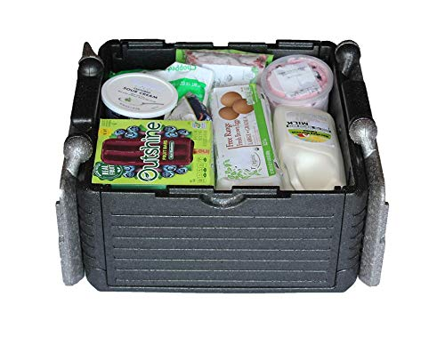 - Flip-Box Classic Insulation Box - Fits 30 Cans, Collapsible, Insulated, Lightweight, Portable- Great for Groceries, Parties, Picnics, Camping, Beach, Tailgating, Fishing, Hunting, Boating and More!
