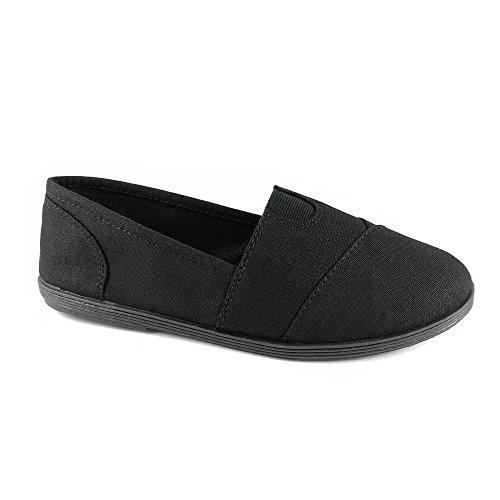 Soda Women Object Flats-Shoes, TPS Obji New Black Size 7.5