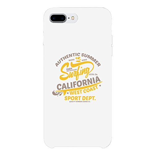 Powder Coating California - 365 Printing Summer Surf California Apple iPhone 7 Plus Ultra Slim Phone Cover