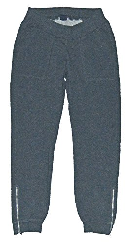 - GAP Maternity Gray Knit Zip Leg Joggers XS