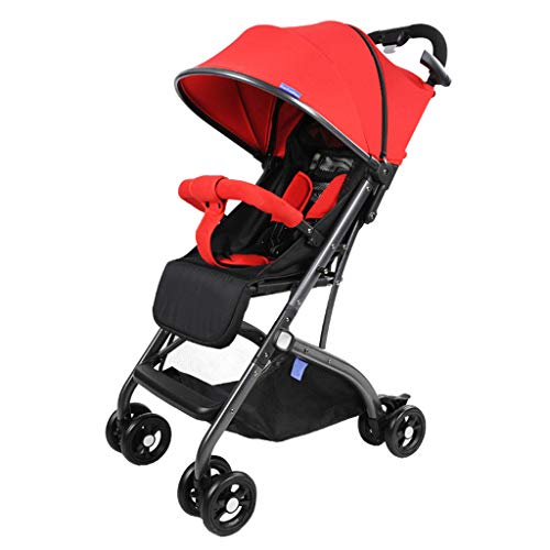 Variable Trolley Case Baby Stroller Adjustable High View Pushchair Travel System – 49 56 cm (Compact Folding)