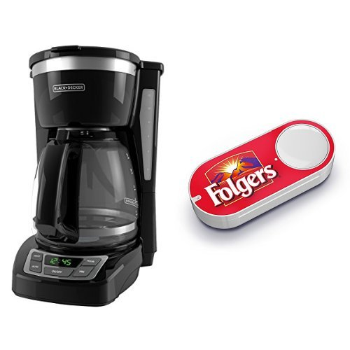 Black And Decker Coffee Maker Strong Button : Black & Decker CM1160B 12 Cup Programmable Coffee Market, Digital Control Programmable Coffee ...