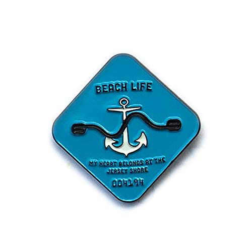 (New Jersey Shore beach badge - 1