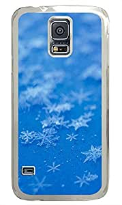 Samsung S5 waterproof case Blue Stars Awesome PC Transparent Custom Samsung Galaxy S5 Case Cover