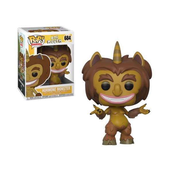 Funko Pop Television: Big Mouth - Hormone Monster Collectible Figure, Multicolor 1
