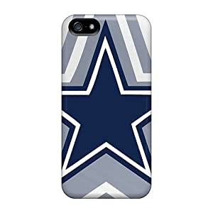 Elaney Iphone 5/5s Well-designed Hard Case Cover Dallas Cowboys Protector