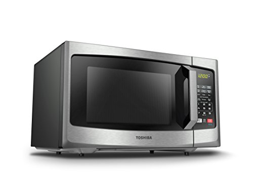 Toshiba EM925A5A-SS Microwave Oven with Sound on/Off Eco Mode and LED Lighting, 0.9 cu. ft, Stainless Steel by Toshiba (Image #5)