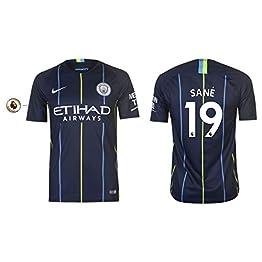 Manchester City F.C. Maillot pour Homme 2018-2019 Away PL - Sane 19