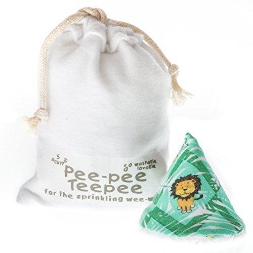 Beba Bean Pee pee Teepee Jungle Green   Laundry Bag, white,green,multicolor (Best Novels To Read During Pregnancy)