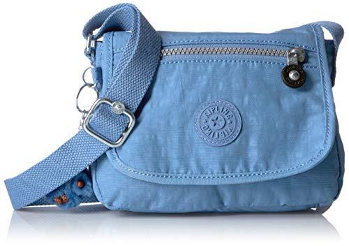 Kipling Sabian Solid Crossbody Minibag, Dream Blue
