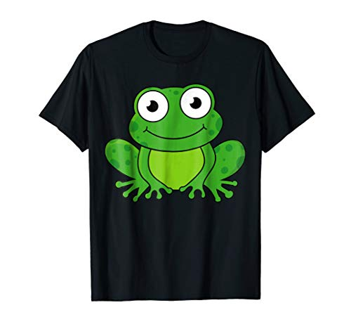 Frog TShirt Funny Toad Caecilian Croaker for Kids Boys Girls