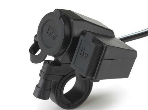 KapscoMoto Motorcycle Handlebar waterproof Charger product image