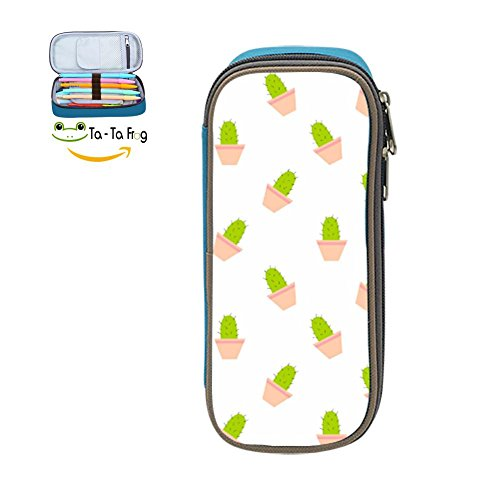 Cactus Costume Pattern (Pencil Case Cactus Pattern Pen Case Stationery Pouch Bag Case Cosmetic Makeup for School Supplies)
