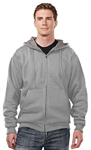 Zip Thermal Hooded Pullover Sweatshirt - 4