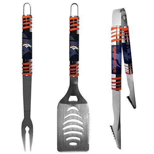 (NFL Denver Broncos Tailgater BBQ Set (3 Piece),)