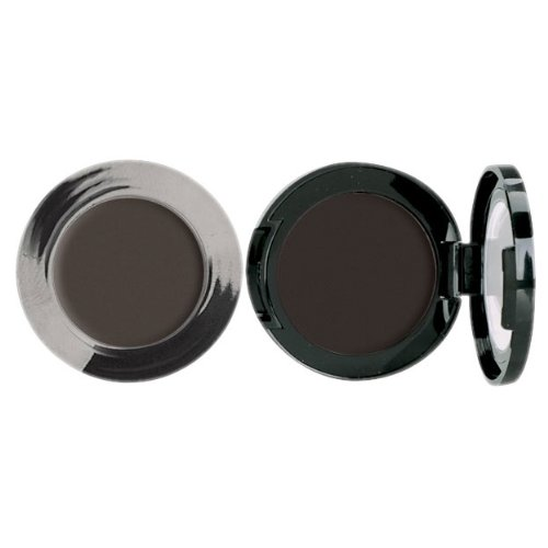 (Jolie Cake Eyeliner - Intense Color, Longwearing Matte Finish - Black or Brown (Black))