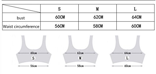 Ailin home- Sports Vest Fitness Yoga Seamless de secado rápido ropa interior sujetador deportivo Naranja