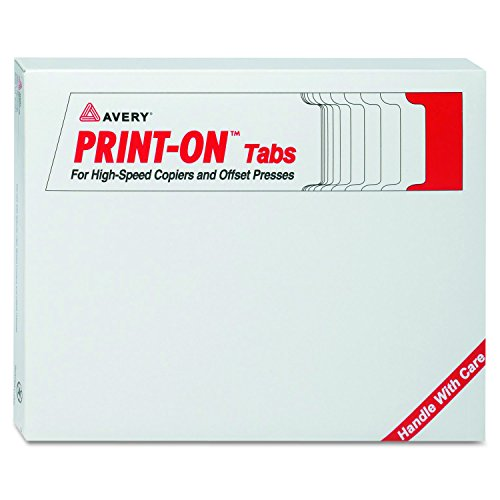 Avery Reverse Collated Dividers 20406