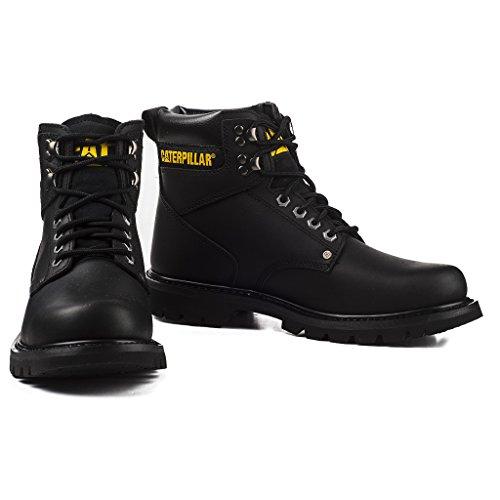 6bd1469fbf2284 Caterpillar Herren Stiefel Second Shift 6 Inch Boots Leder P703925 Schwarz  705773 Braun Schwarz aUZLa8x