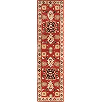 Rug Source Hand-Tufted Oushak Agra Oriental Wool Rug 10 Ft Runner for Hallway