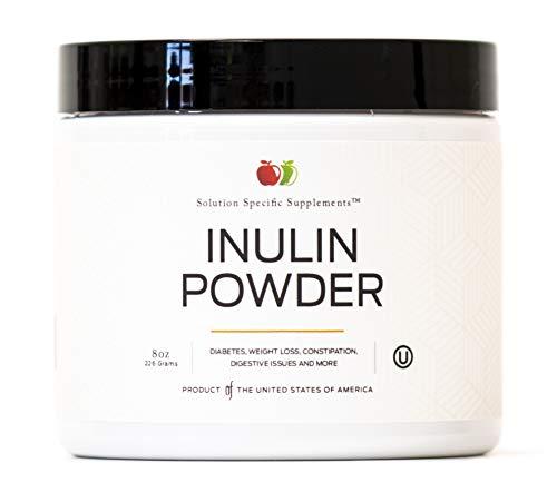 Artichoke Powder (Pure Inulin Powder Fiber Supplement - (Jerusalem Artichoke) Prebiotic Bulk Inulin Fiber Powder 8oz Digestion & Gut Health)