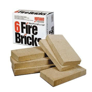Fireplace Brick Stand (Vermont Castings Stand Firebrick pack of 6)