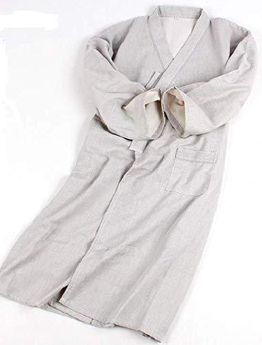 Shihan Power-Sports Japonés Hombre Kimono Batas Hombre Bata de Dormir 100% Cotton: Amazon.es: Deportes y aire libre