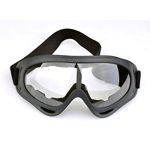 AIMTEK-Tactical-Airsoft-Safety-Goggles-Eye-Protection-Foam-Pad-Vented-For-Hunting-Paintball-ShootingTransparent-Lens