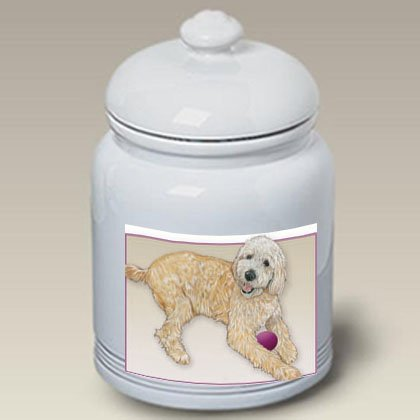 Goldendoodle - Best of Breed Treat Jars