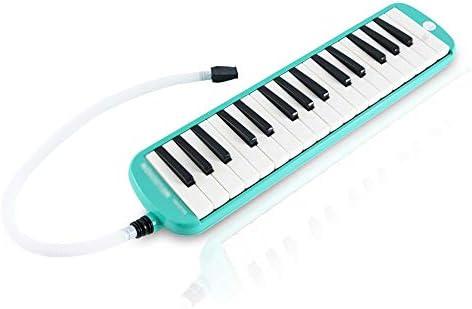 ساز ملودی ، پیانوی 32 تایی با جعبه پلاستیکی سخت برای کودکان 5 بسته (