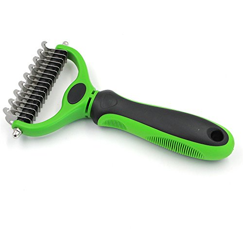 Amy Johny Dog Brush Pet Grooming Tool Hair Removal Comb for Dogs Cats Brush Detachable Hair Shedding Trimming For Pet Supply Wholesale
