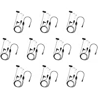 10 Pack BOMMEOW BCT35-K2B 3-Wire Acoustic Clear Tube Earpiece for KPG-22 Baofeng Pofung Anytone Retevis Wouxun Radio