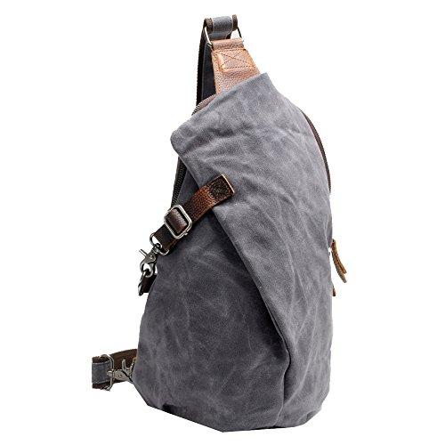 los hombro bolso hombres la la del gama Bolso de WENL bolso mochila de honda plegable el del la bolso cantar diseño de de morral bolso honda del alpinismo de del Gray del alta del bicicleta qXYw4