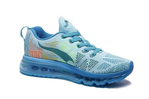 Onemix Zapatos Padel Y Zapatillas Montaña Correr Para De Aire Asfalto Mujer Negro En Air Azul Running Libre Deportes 657WqrP6