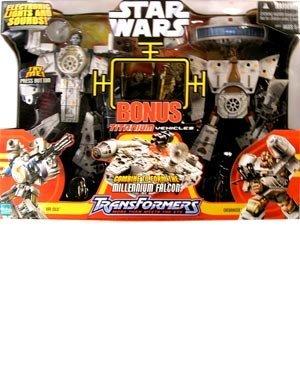 Star Wars Deluxe Transformer Millenium Falcon (Lego Star Wars Wookiee Ship)