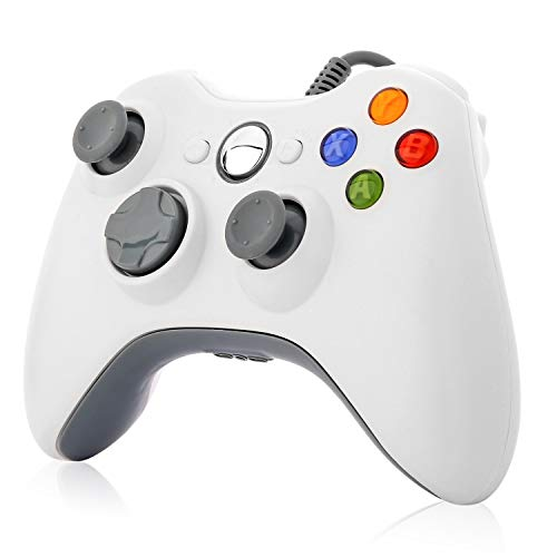 Wired USB Controller Gamepad Joystick Joypad Compatible for Microsoft Xbox 360 Console Windows PC Laptop Computer Video…