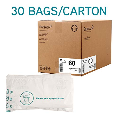 """Instapak Quick RT #20 Sealed Air 30 bags 18/""""x18/"""" No Warmer Needed!!!"""
