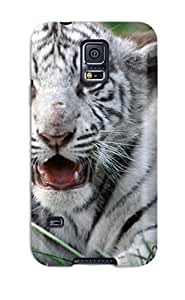Hard Plastic Galaxy S5 Case Back Cover,hot Tiger Image Case At Perfect Diy wangjiang maoyi