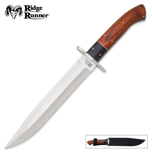 Ridge Runner Montana Toothpick Bowie Knife, Outdoor Stuffs