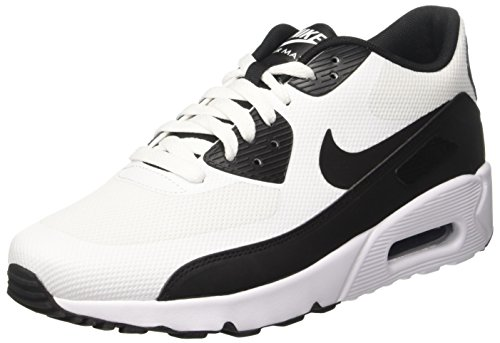 Nike Mens Air Max 90 Ultra 2.0 Essential, Bianco / Nero-bianco Bianco / Nero-bianco