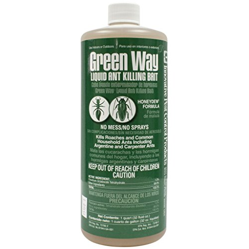 Pest Control Liquid - Gourmet Liquid Ant Killing Bait Green - 32oz