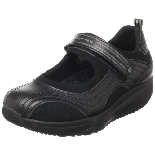 Skechers Womens Forma Up Iper Esplosione Mary Jane Scarpa Da Tennis Nera
