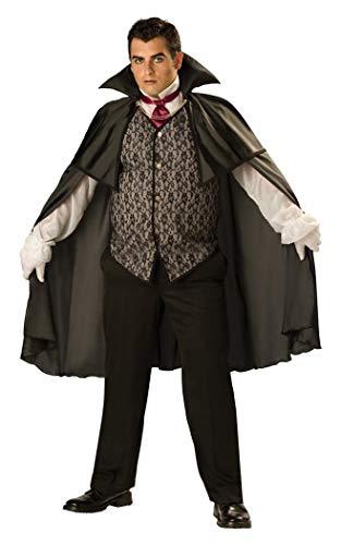 InCharacter Costumes, LLC Men's Midnight Vampire Costume,