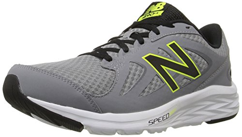 New Balance Mens 490v4 Running Shoe Silver/Black gykLkJCHF