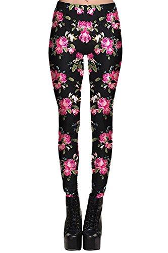 Davikey comfortable Women's Prined Leggings Waist Band Plus Size Tights L Pattern - Macy's Site