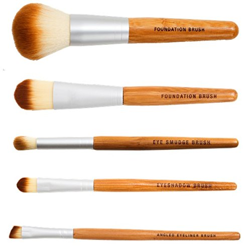 Bamboo Naturals Brushes Natural Handles