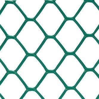 NORTENE 0, 5 x 5 m hexamas Malla de jardín/Valla Rollo – Verde: Amazon.es: Jardín